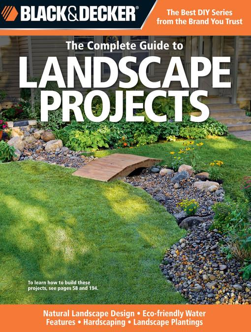 Black & Decker The Complete Guide to Landscape Projects EB2370003384352