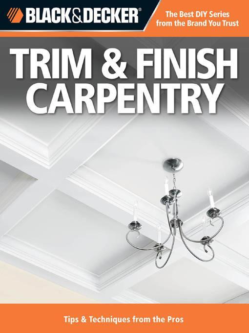 Black & Decker Trim & Finish Carpentry EB2370004246369