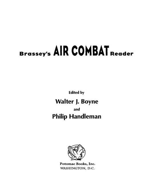 Brassey's Air Combat Reader EB2370004235561