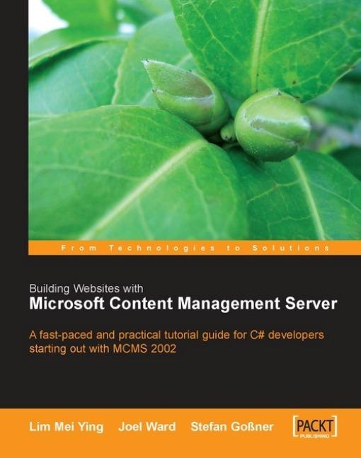 Building Websites with Microsoft Content Management Server EB2370004368061