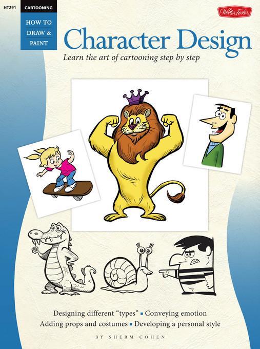 Cartooning: Character Design EB2370003849615