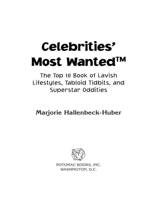Celebrities' Most Wanted? EB2370004238173