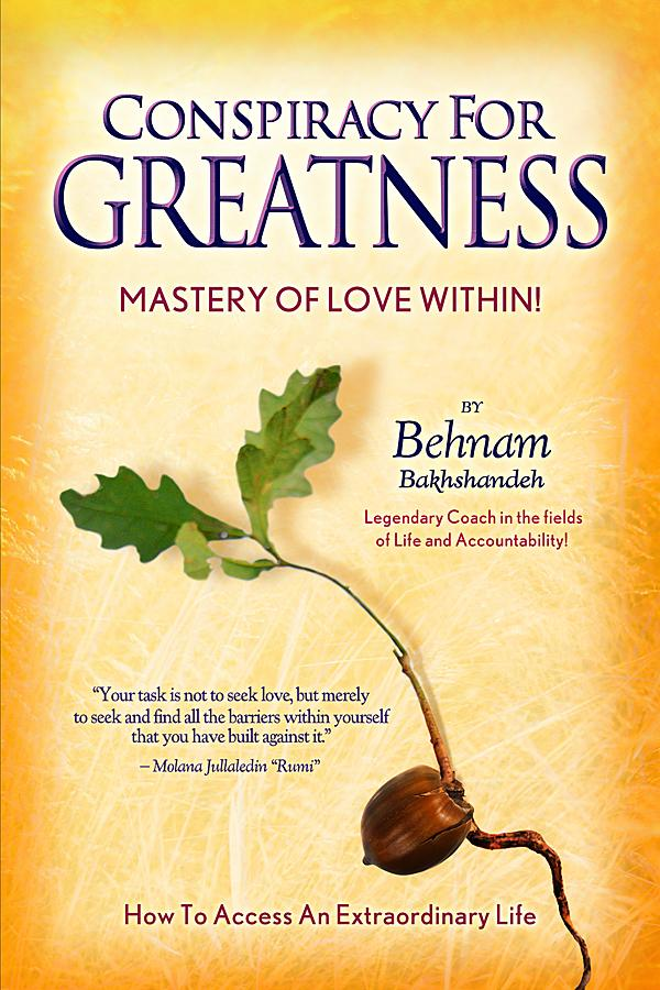 Conspiracy for Greatness... Mastery of Love Within EB2370002581646