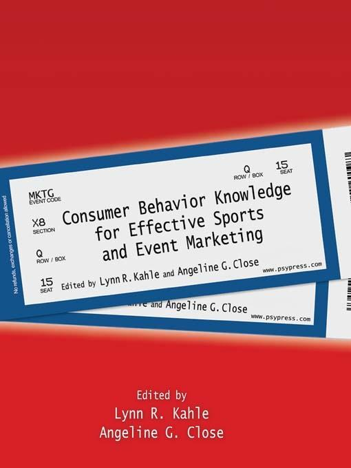 Consumer Behavior Knowledge for Effective Sports and Event Marketing EB2370003285352