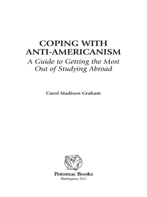 Coping with Anti-Americanism EB2370004234243