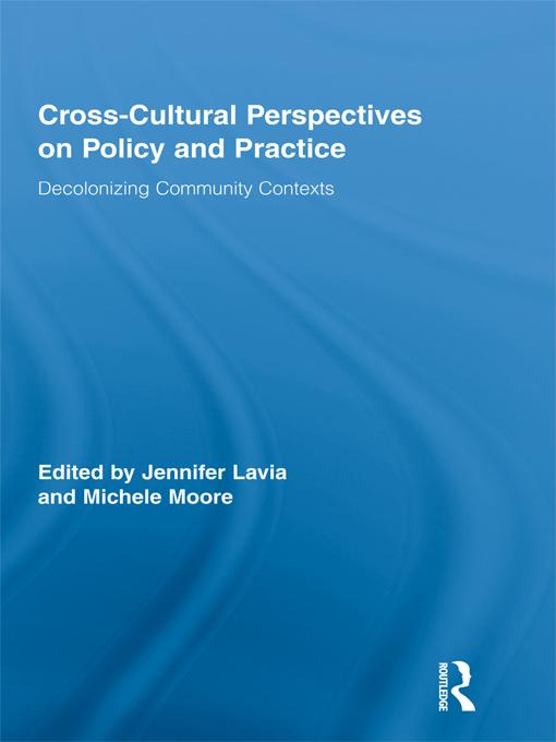 Cross-Cultural Perspectives on Policy and Practice EB2370002549363