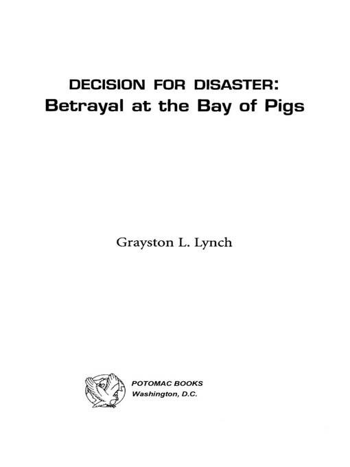 Decision for Disaster EB2370004232669