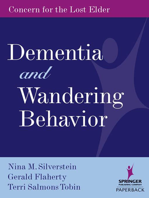 Dementia and Wandering Behavior EB2370004265728