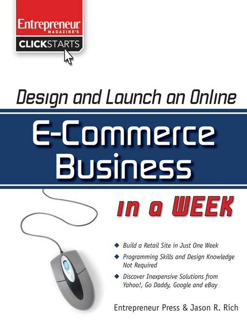 Design and Launch an E-Commerce Business in a Week EB2370003333671
