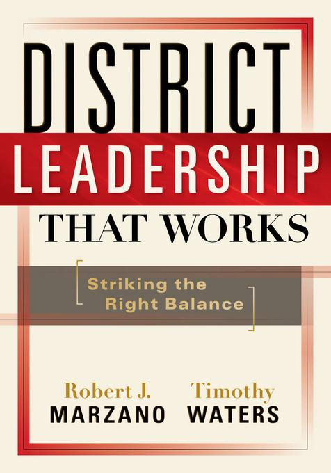 District Leadership That Works EB2370004243139