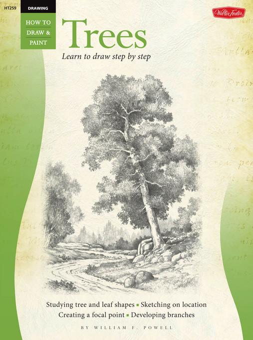 Drawing: Trees with William F. Powell EB2370003891867