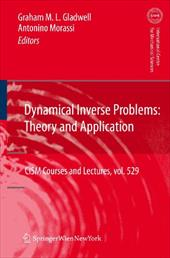 Dynamical Inverse Problems: Theory and Application 13157375