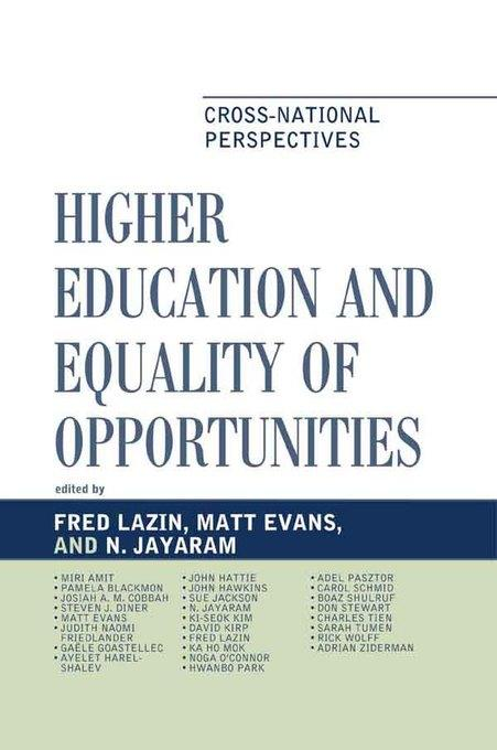Higher Education and Equality of Opportunity: Cross-National Perspectives EB2370004532424