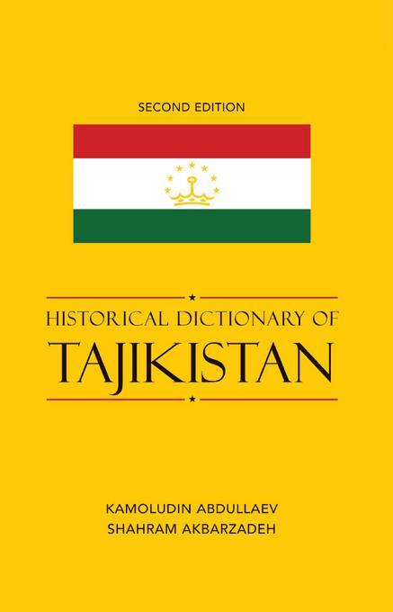 Historical Dictionary of Tajikistan EB2370004532714