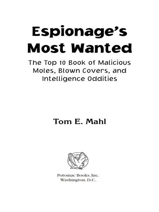 Espionage's Most Wanted? EB2370004235189