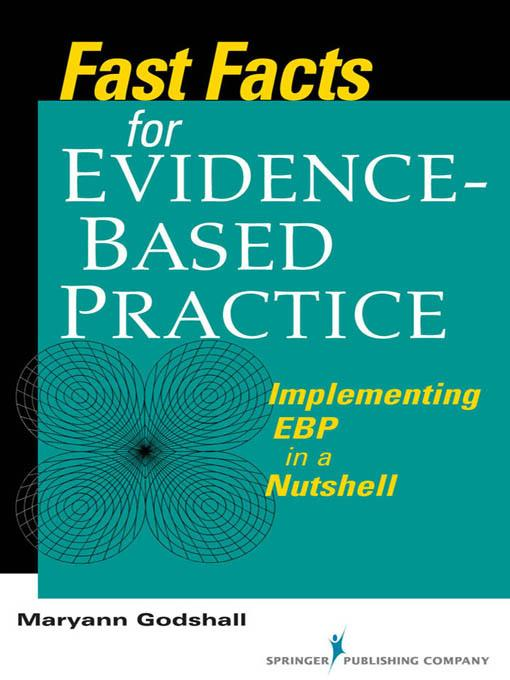 Fast Facts for Evidence-Based Practice EB2370004264745