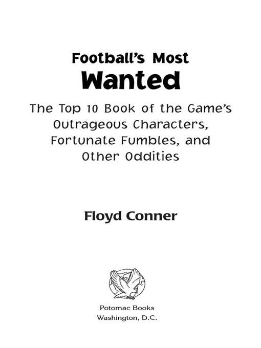 Football's Most Wanted? EB2370004236438