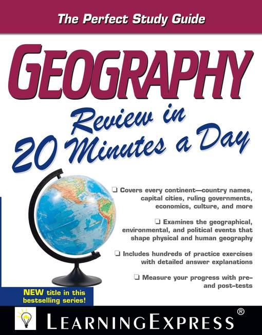 Geography Review in 20 Minutes a Day EB2370004370576