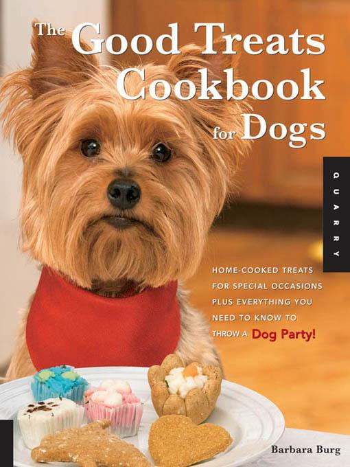 Good Treats Cookbook for Dogs EB2370003271744