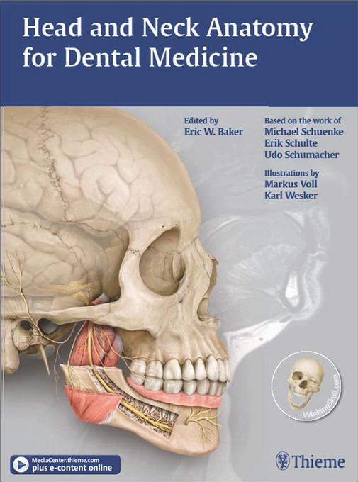 Head and Neck Anatomy for Dental Medicine EB2370004334042