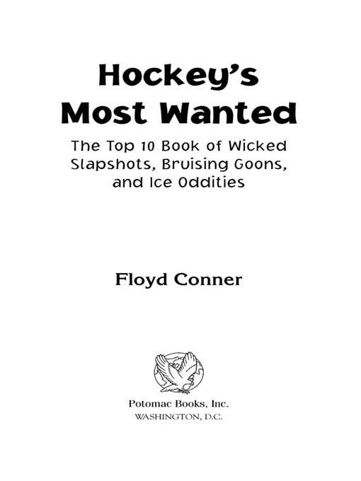 Hockey's Most Wanted? EB2370004236483