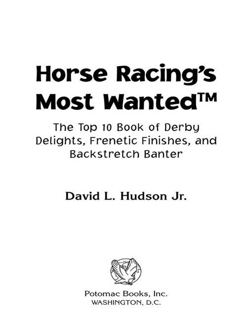 Horse Racing's Most Wanted? EB2370004232614