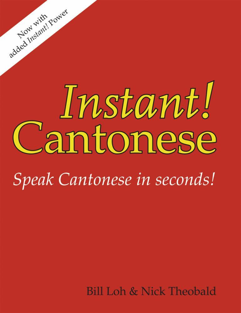 Instant! Cantonese EB2370003345766