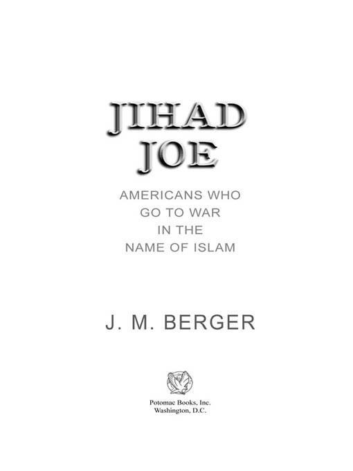 Jihad Joe: Americans Who Go to War in the Name of Islam EB2370004237206