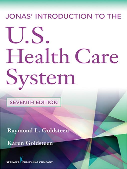 Jonas' Introduction to the U.S. Health Care System, 7th Edition EB2370004483320