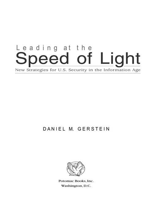 Leading at the Speed of Light EB2370004237602