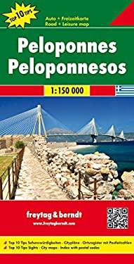 Map-Peloponnese/Corinth 9783707910575