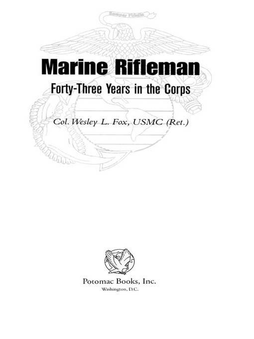 Marine Rifleman EB2370004238289