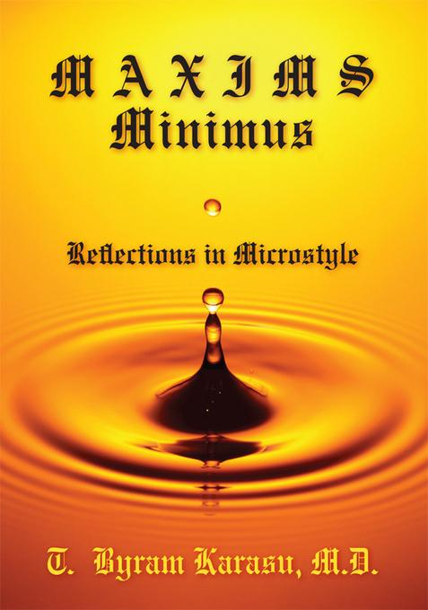 Maxims Minimus: Reflections in Microstyle EB2370004363073