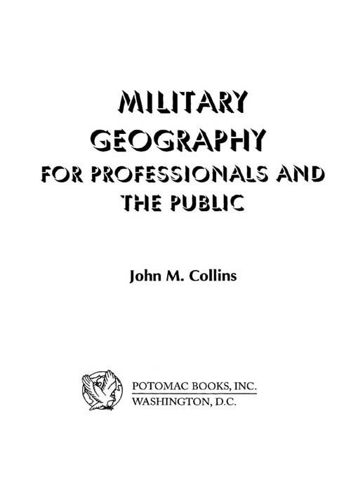 Military Geography EB2370004237824