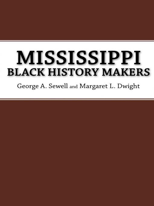 Mississippi Black History Makers EB2370004268910