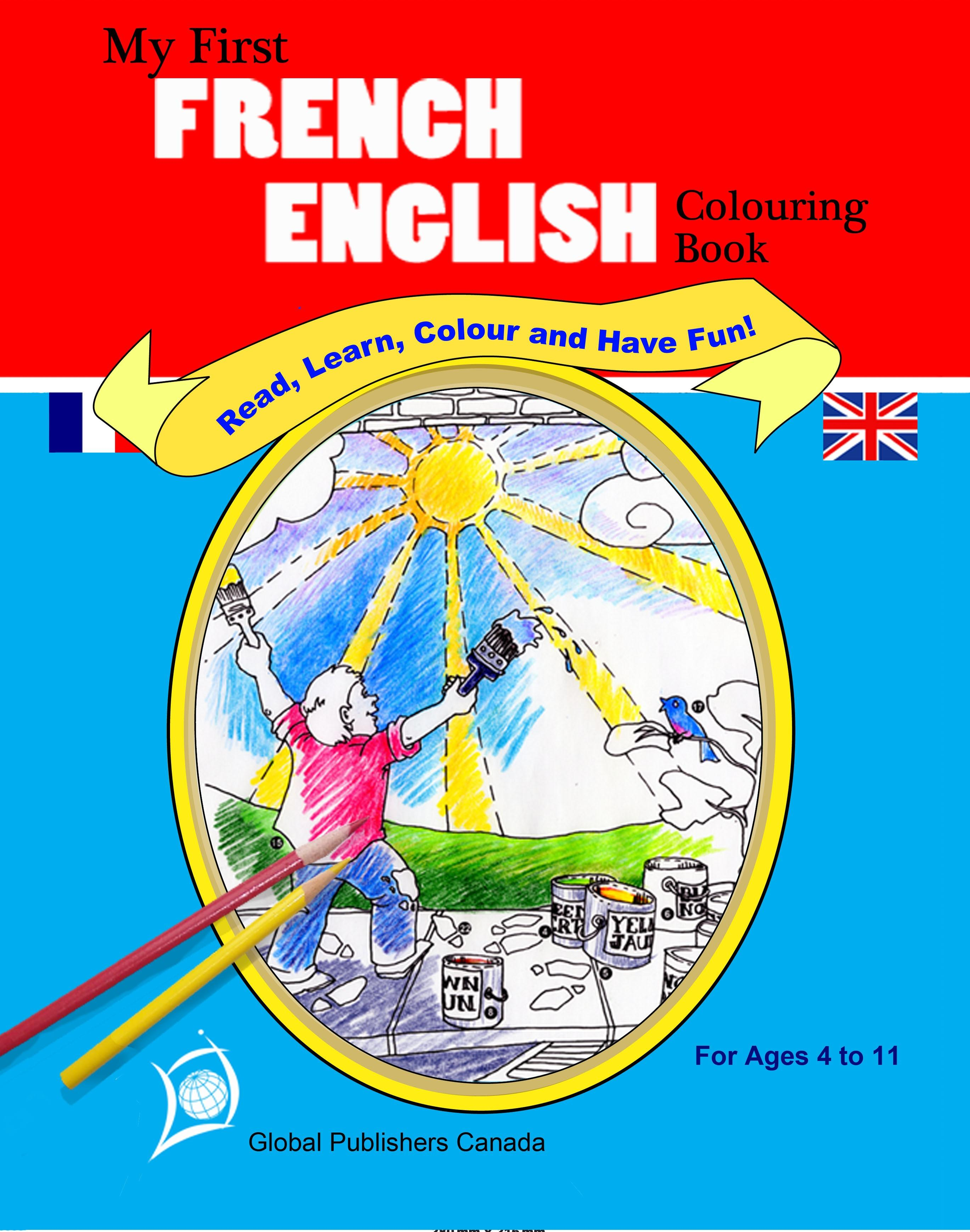 My first French-English coloring book EB2370004377193