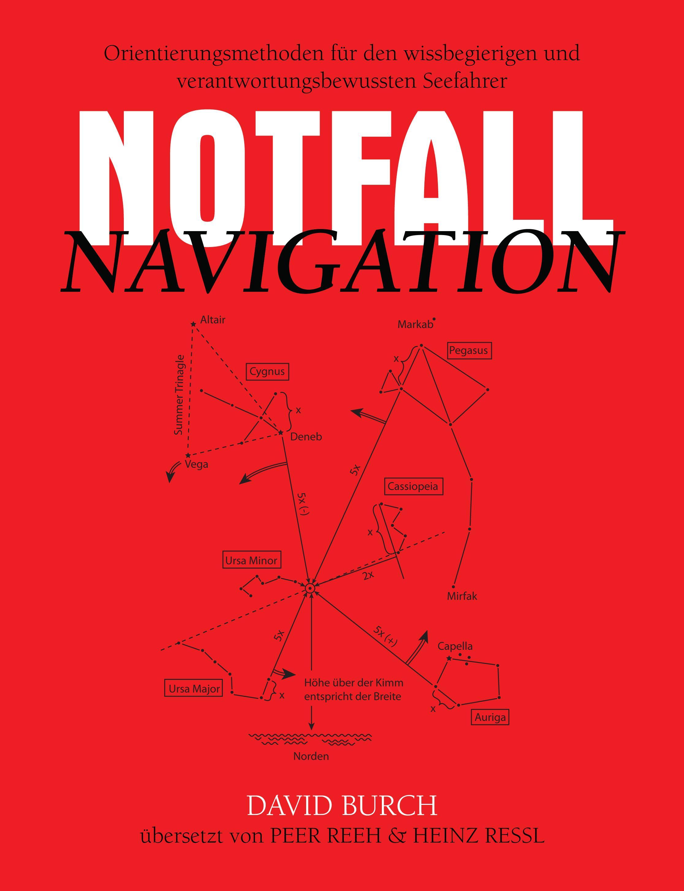 Notfall Navigation - Orientierungsmethoden f?r den wissbegierigen und verantwortungsbewussten Seefahrer