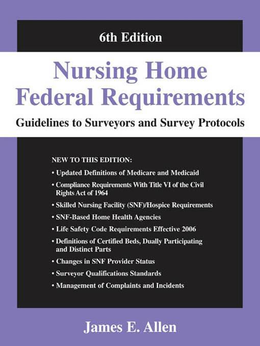 Nursing Home Federal Requirements EB2370004265438