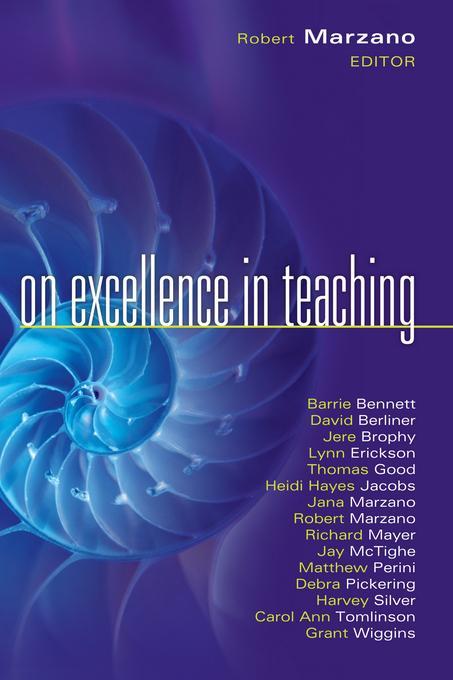 On Excellence in Teaching EB2370004243115