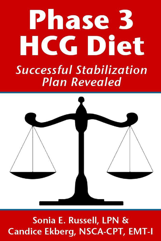 Phase 3 HCG Diet: Successful Stabilization Plan Revealed EB2370004189222