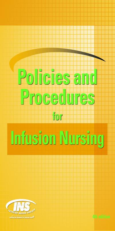Policies and Procedures for Infusion Nursing (4th Edition) EB2370003266030