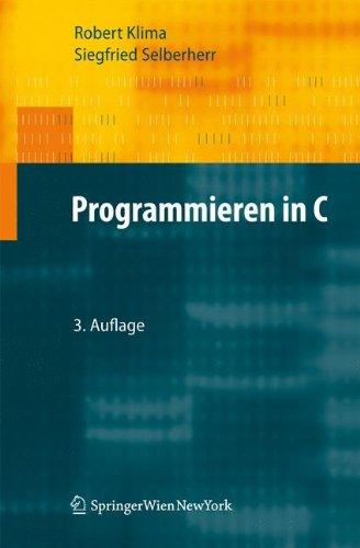 Programmieren in C 9783709103920
