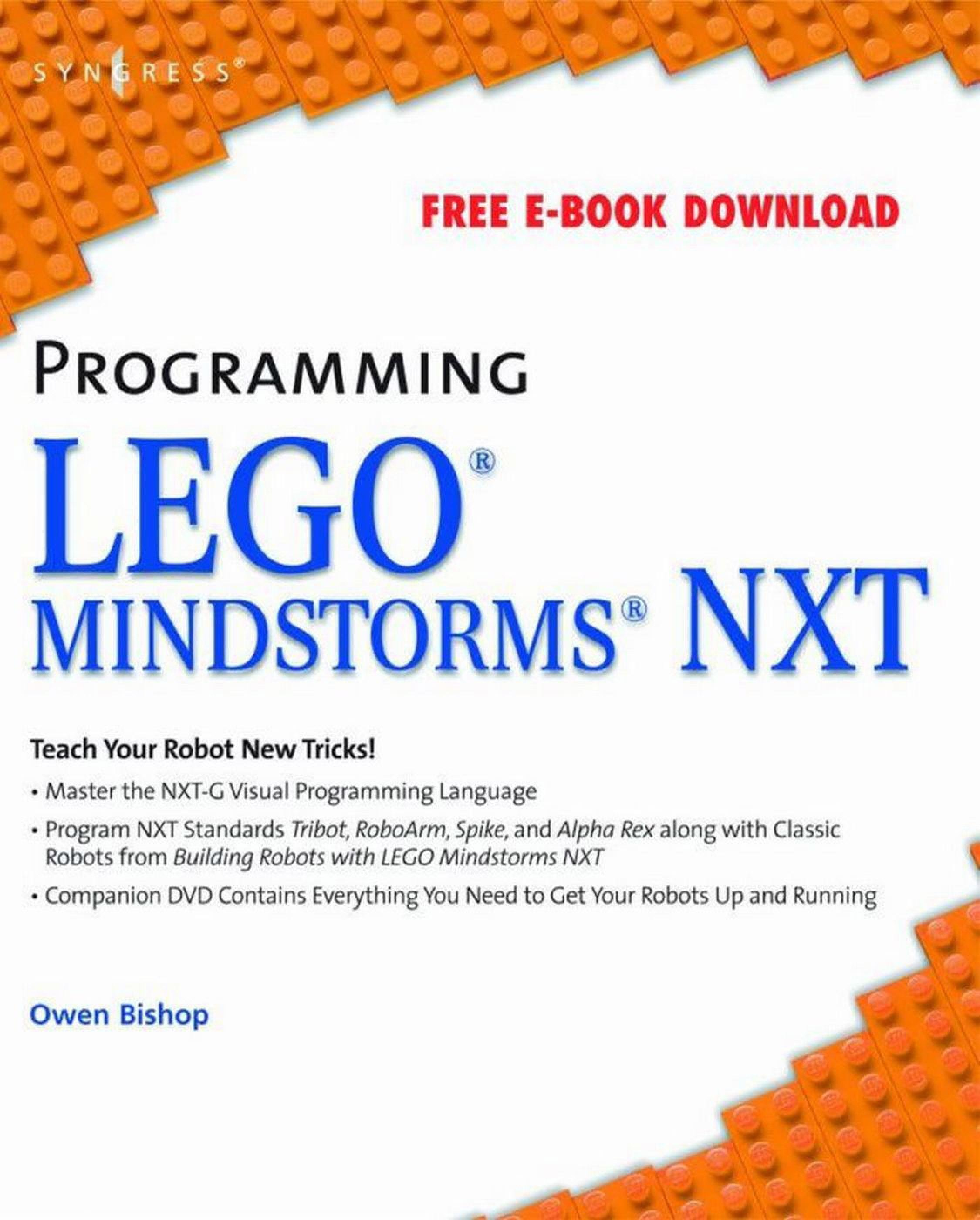 Programming Lego Mindstorms NXT EB2370003016345