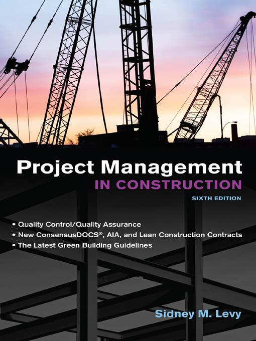 Project Management in Construction 6/E EB2370003857375