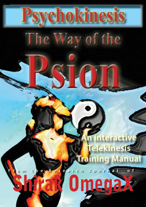 Psychokinesis The way of the Psion EB2370002732925