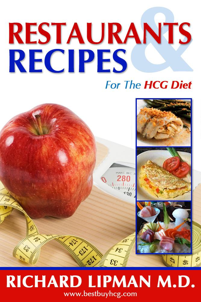 Restaurants and Recipes for the HCG Diet EB2370003804348