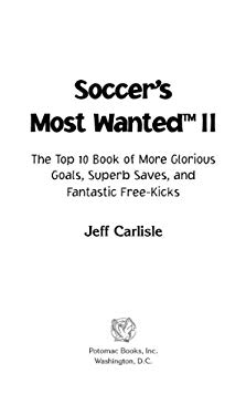 Soccer's Most Wanted? II EB2370004234595