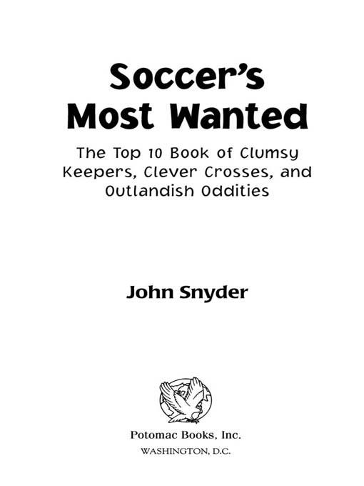 Soccer's Most Wanted? EB2370004236445