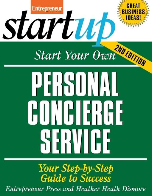 Start Your Own Personal Concierge Service EB2370003334562