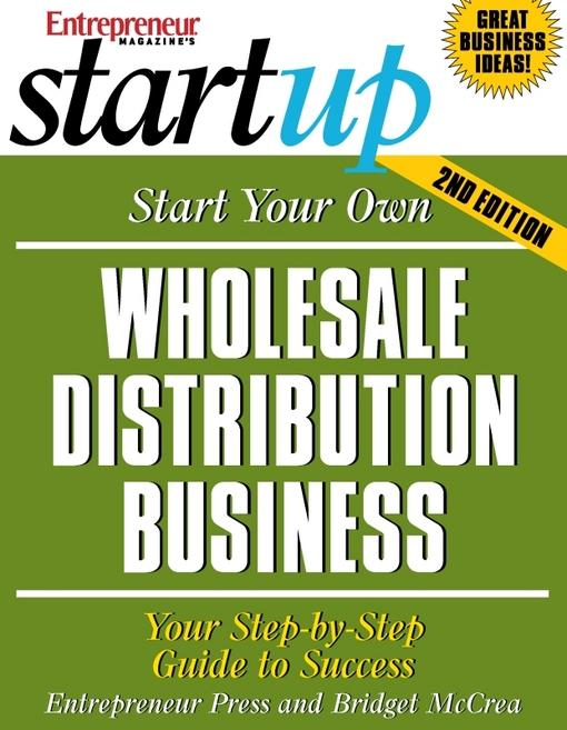Start Your Own Wholesale Distribution Business EB2370003333572